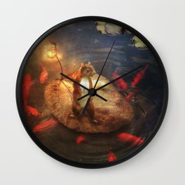 Columbus the Squirrel Wall Clock