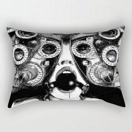 asc 712 - Le masque de la Méduse (Object woman) Rectangular Pillow