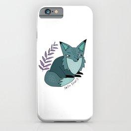 Soju Shots Fox iPhone Case