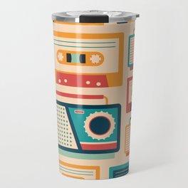 Audio Cassettes and Radios Travel Mug