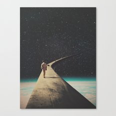 We Chose This Road My Dear Canvas Print