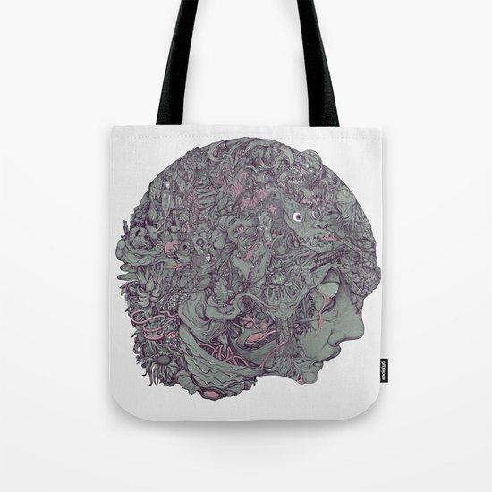 In Mind Head Tote Bag