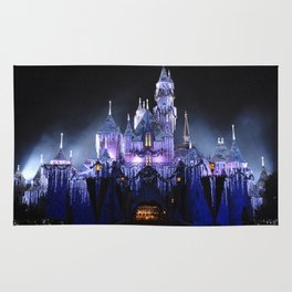 Sleeping Beauty's Winter Castle (Night-time, no 1) Rug