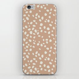 PEACH PEBBLES iPhone Skin
