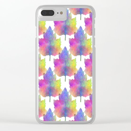 Blues Of Nature Clear iPhone Case