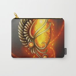 Pendant - heart of the Phoenix Carry-All Pouch