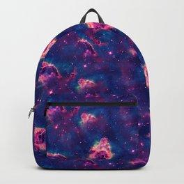 Purple Red Sandstorm Universe Backpack