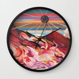 Party on Mars Wall Clock