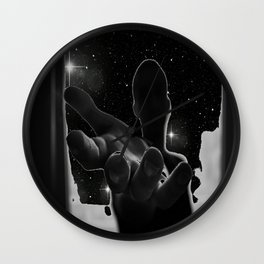 into the stars Wall Clock