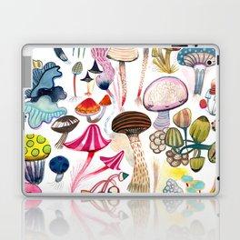 Mushroom Collection - b r i g h t s Laptop & iPad Skin