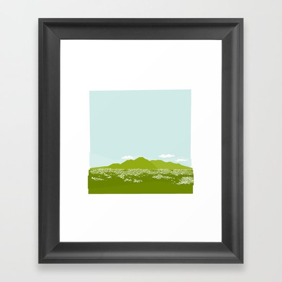 Caracas City by Friztin Framed Art Print