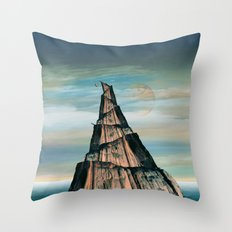 Olympic nailed Throw Pillow