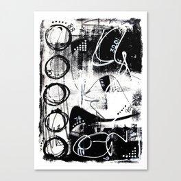 Bold & Graphic No.3 Canvas Print