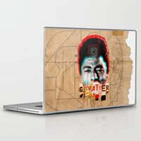 the godfather Laptop & iPad Skins featuring Godfather by Marko Köppe