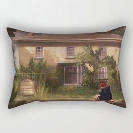 The Girl Who Waited Rectangular Pillow