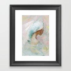 Portrait of a memory Framed Art Print