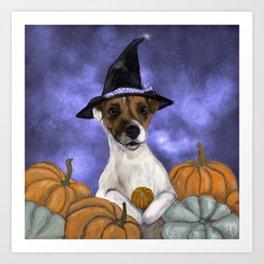 Mabel, Queen of the Pumpkin Patch Art Print