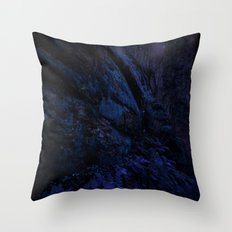 Enchanted Midnight Forest Wall Throw Pillow