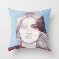 RETRATO 240413 Throw Pillow