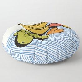 Fruit Still Life Floor Pillow