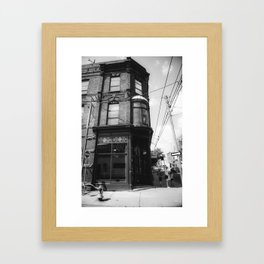 Old Cubana Framed Art Print