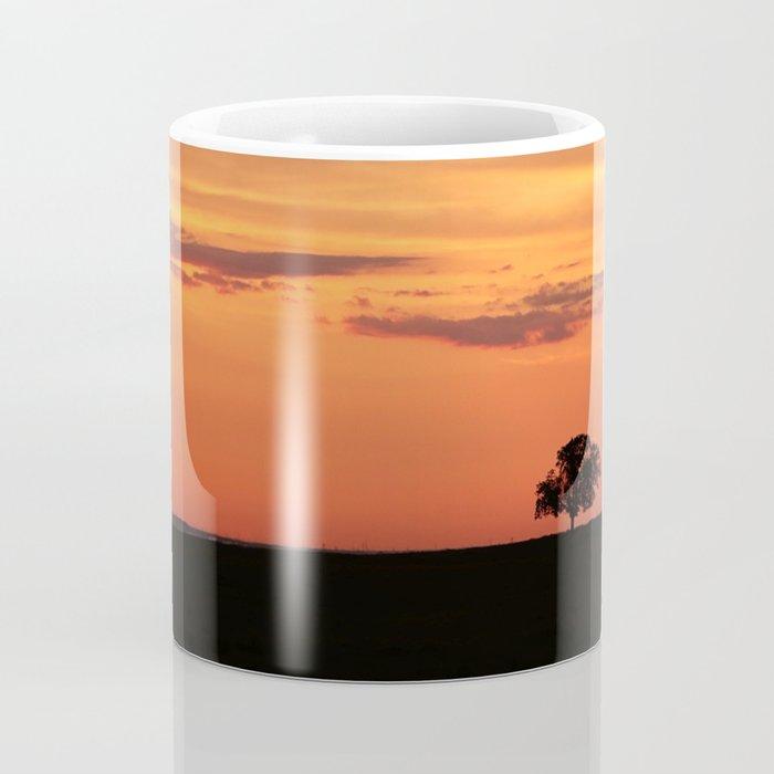Lone Tree in Field Coffee Mug