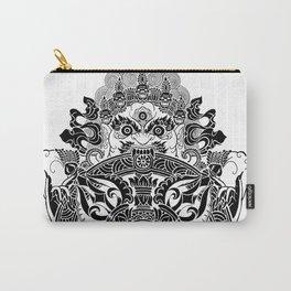Tibetan Mahakala Carry-All Pouch