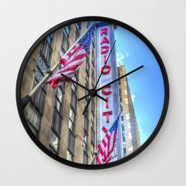 Radio City Music Hall New York Wall Clock