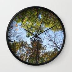 Autumn Vibrance Wall Clock