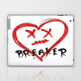 Heart Breaker Laptop & iPad Skin