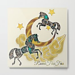 Whimsy-Foo Metal Print