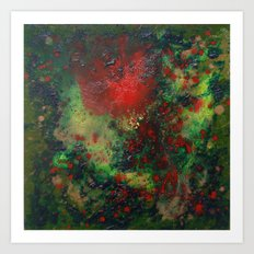 Biomorphic Pool 1 Art Print