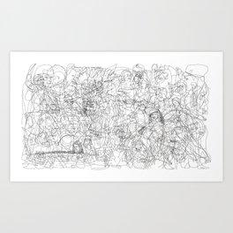 VENTUSSIGNA Art Print