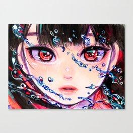 海から出た魚 Canvas Print