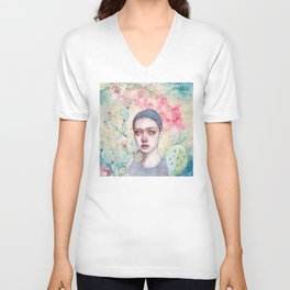 End of the Past Unisex V-Neck
