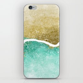 London Abstract Map #2 iPhone Skin