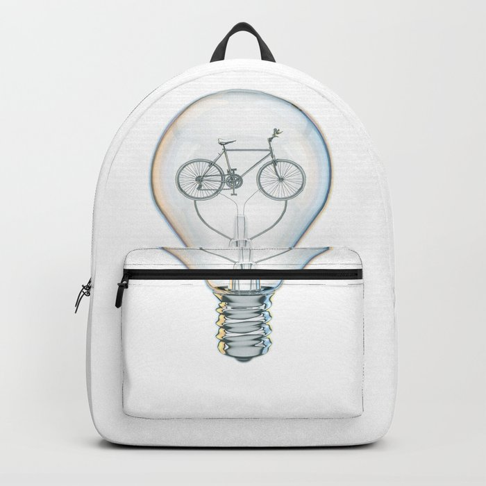 Light Bicycle Bulb Backpack