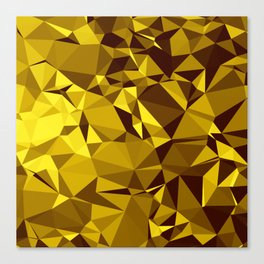Low poly 2 Canvas Print