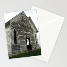 Abandoned Church Stationery Cards