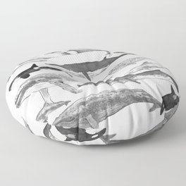 Cetology Floor Pillow