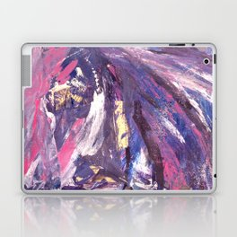 Abstract in Purple and Glitter Laptop & iPad Skin
