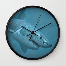 Beyond The Break Wall Clock