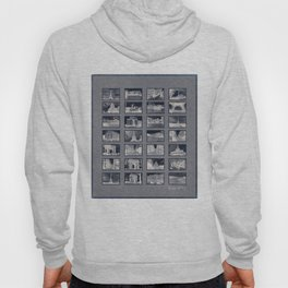 France Collage Negatives Hoody