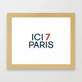 ICI 7 PARIS Framed Art Print