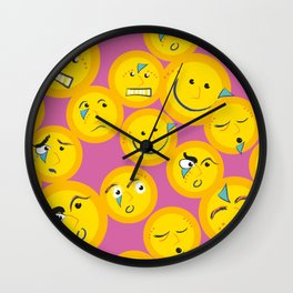 Crowded Wall Clock