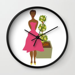 Cultivated & Zesty No 02 Wall Clock
