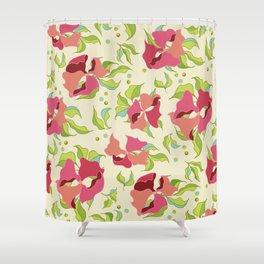 Power Flowers – Spring Shower Curtain