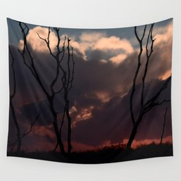 Calm Before The Storm Wall Tapestry