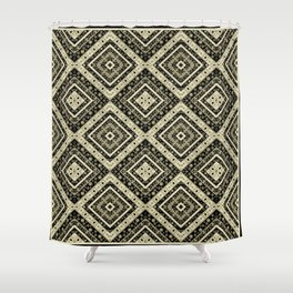 Beautiful ethnic ornament. 1 . Shower Curtain