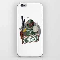 Freelance Bounty Hunter iPhone & iPod Skin